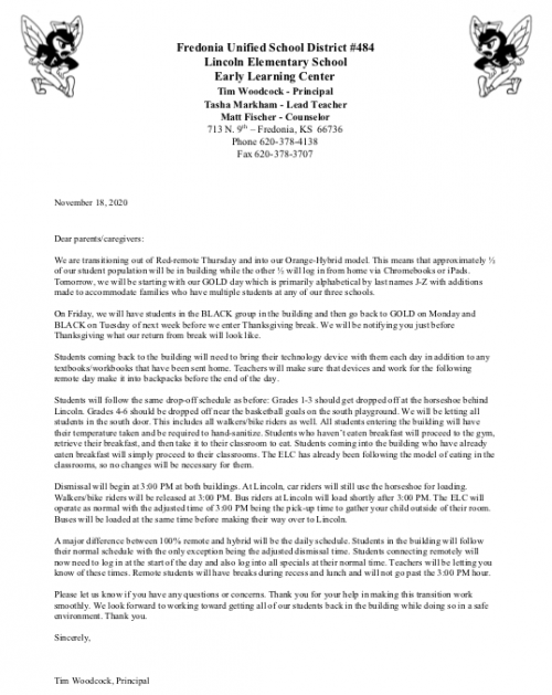 Hybrid Letter