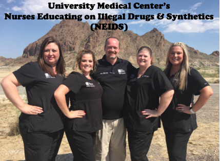 University Medical Center's Nurses Educating on Illegal Drugs & Synthetics (NEIDS)