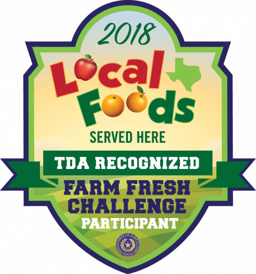 TEA Recognized Farm Fresh Challenge Participant Badge
