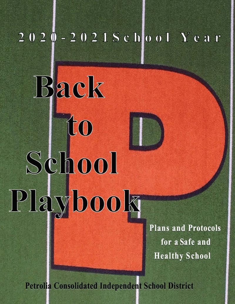 Petrolia CISD 2020-2021 Back-to-School Playbook