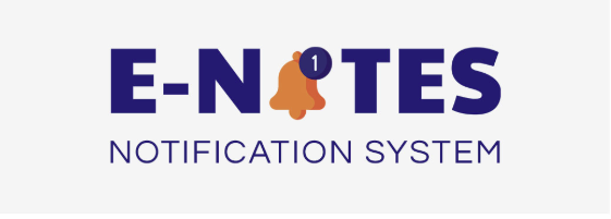 e-notes notification system