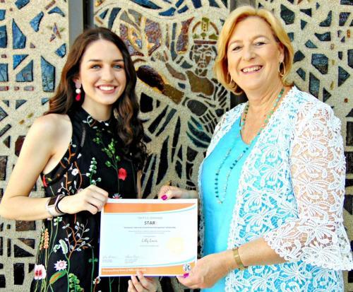 PHS Senior receives P.E.O. STAR Scholarship