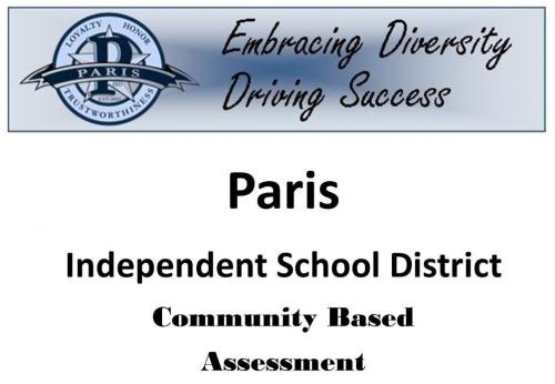 Paris ISD Community Based Assessment document