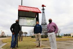 Paris ISD donates kiosk for Eiffel Tower