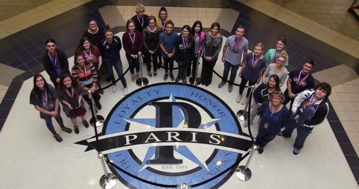PHS students place at UIL Academic District Spring Meet