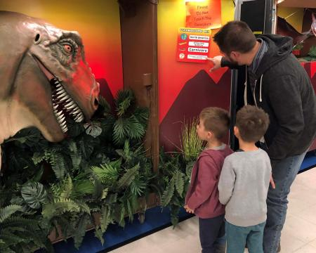 Dinosaurs Live roared into Givens