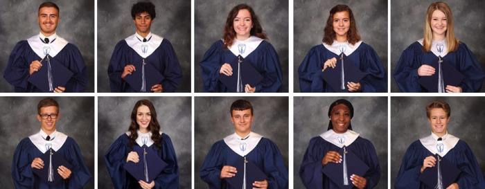 PHS honor graduates 2018