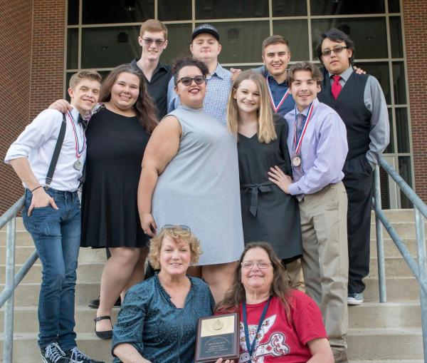 Paris High One Act Play advances to Region
