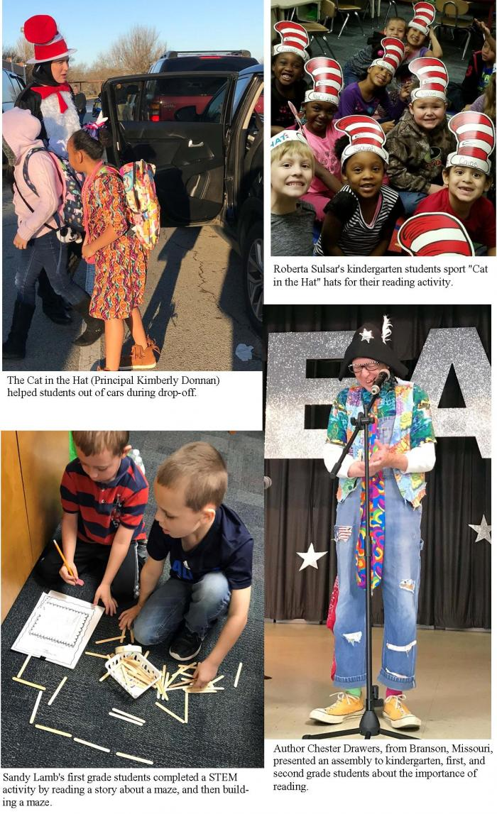 Aikin students celebrate Dr. Seuss' birthday with  'Read Across America' day