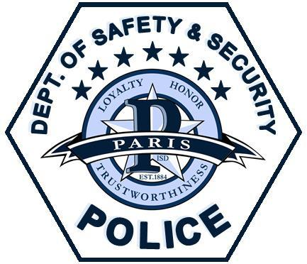 Paris ISD Department of Safety and Security