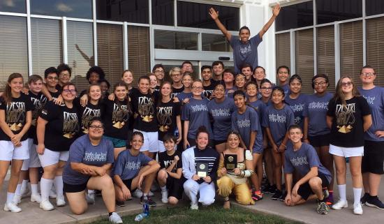 PHS Blue Blazes Band brings home marching awards