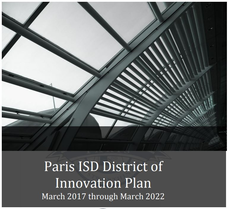 Paris ISD District of Innovation Plan