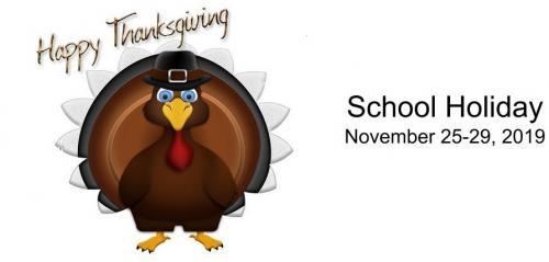 Thanksgiving Holiday