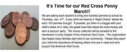 Red Cross Penny March