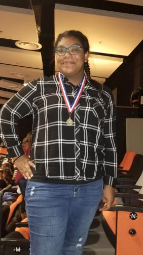 8th grade  Kierah Spencer- Technical Achievement Award