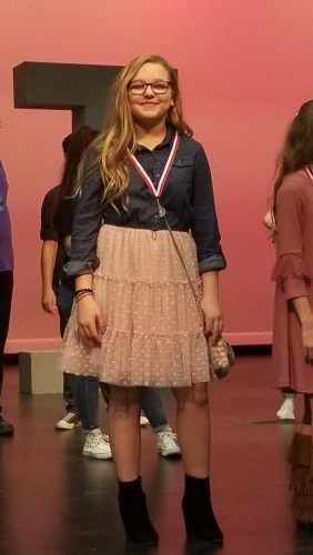 8th grade  Kaitlyn Clayton – All Star Cast Award