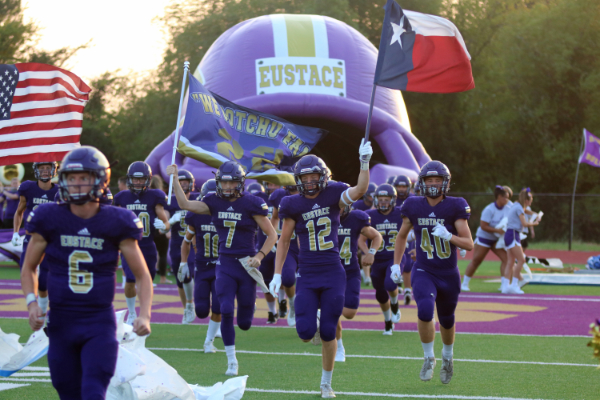 Aug. 28, the varsity team takes the field for the game against Blooming Grove.