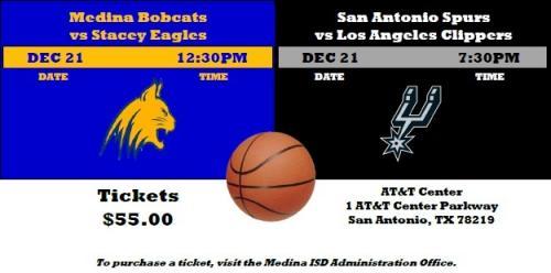 Basketball tickets ad