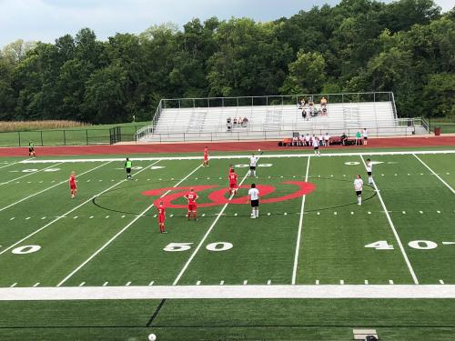 WHS Soccer Players vs Troy