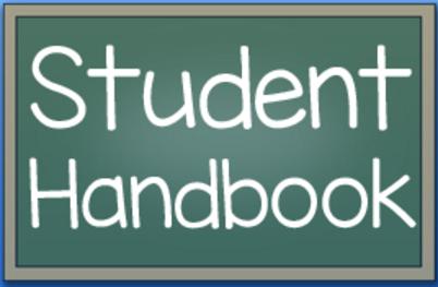 Student handbook icon