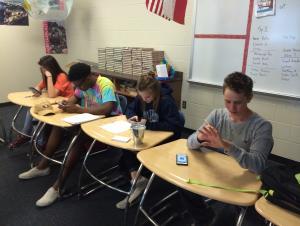 Están estudiando mucho!