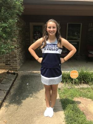 Jordan is our oldest daughter. She enjoys softball, cheer-leading, basketball, and volleyball. She will attend PJH this year.