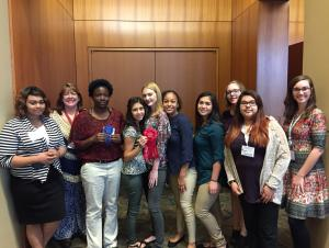 TAFE students at State competition in Arlington, TX