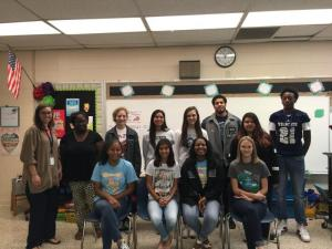 TAFE and Education students visit Justiss Elementary