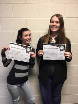 Celebrating Certificates!