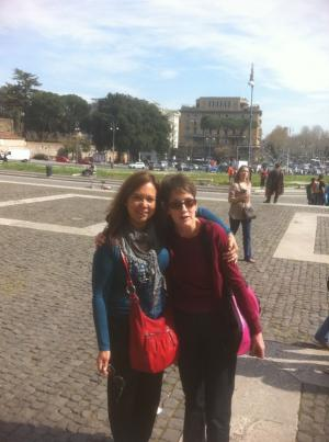 En Roma, Italia