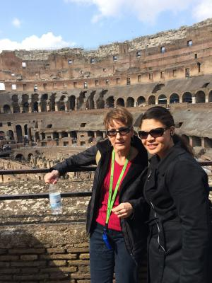 En el Coliseo, Italia