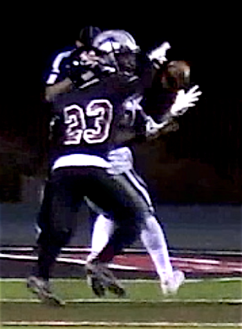 Demetric Glover catches winning touchdown