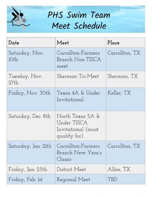 swim schedule 18-19
