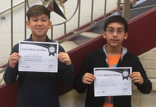 engineering certificate recipients