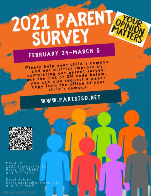 eng parent survey