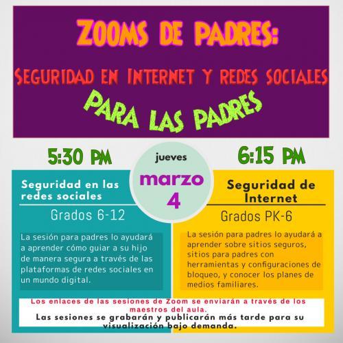 spanish zoom