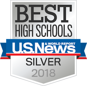 US News Silver Award logo