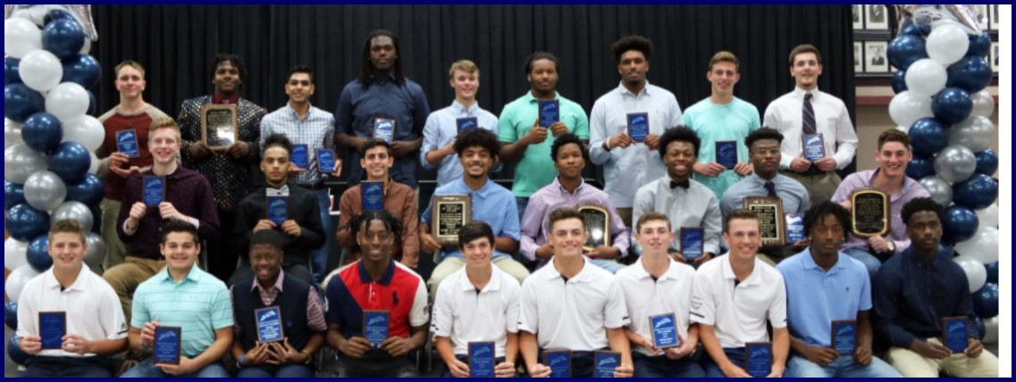Paris High School student athletes honored - boys