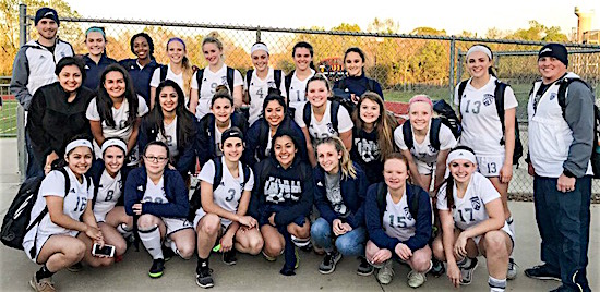 Girls Soccer Area Champions Team Photo