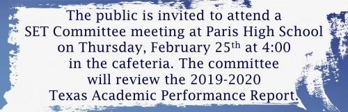 public set meeting