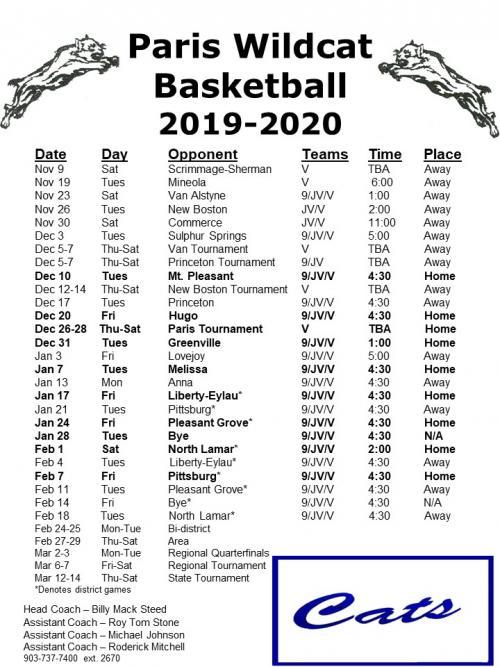 bb schedule 2