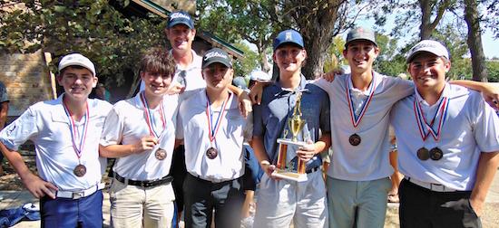Paris High boys golf team