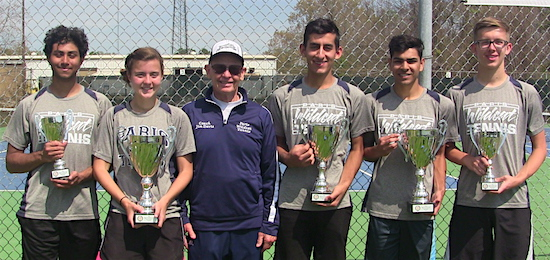 2018 District Tennis Trophy Winners