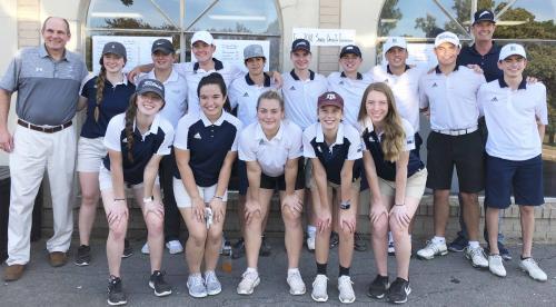 PHS Golf team at Sonic Invitational