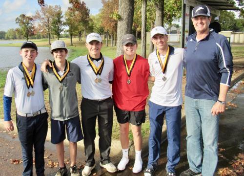 Golf Team at Mt. Pleasant