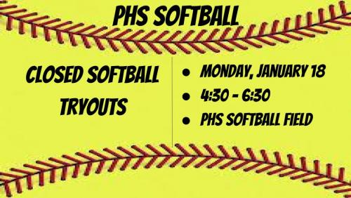 softball tryouts