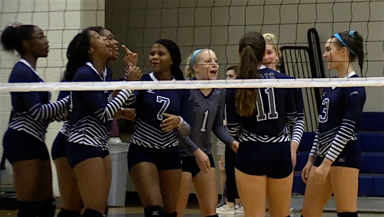Teammates sing happy birthday song to Grace Woodby