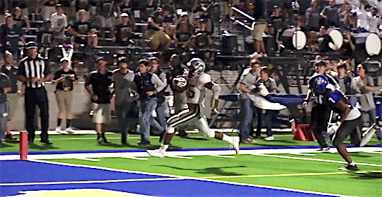Donovan Williams scores winning touchdown in second overtime for Paris