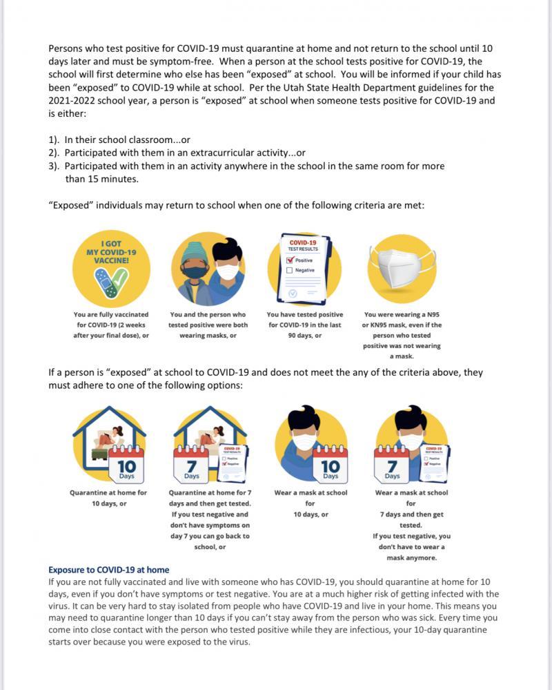 Current quarantine guidelines