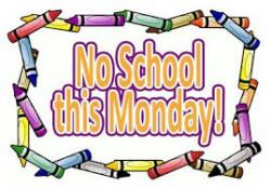 No School, Monday September 28th